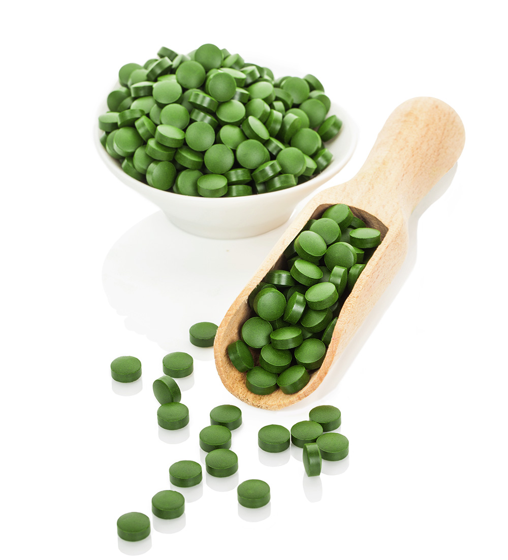 how to take powdered chlorella